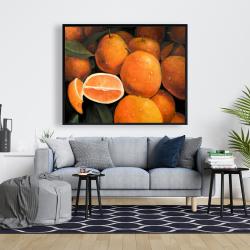 Framed 48 x 60 - Fresh oranges