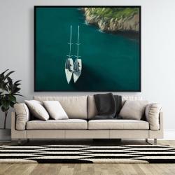 Framed 48 x 60 - Smooth sailing