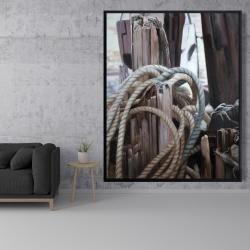 Framed 48 x 60 - Driftwood