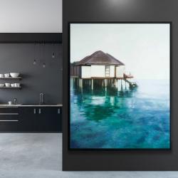 Framed 48 x 60 - Dream travel