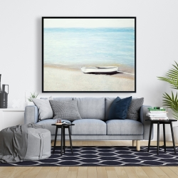 Framed 48 x 60 - Along the sea
