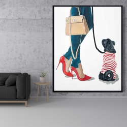 Framed 48 x 60 - Best friends fashion