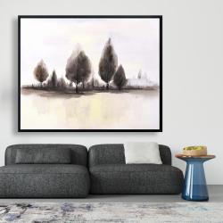 Framed 48 x 60 - Landscape of trees