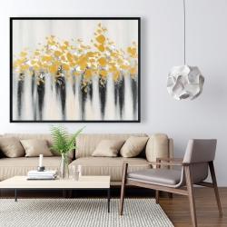 Framed 48 x 60 - Small golden spots