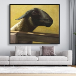 Framed 48 x 60 - Young ram