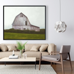 Framed 48 x 60 - Rustic barn