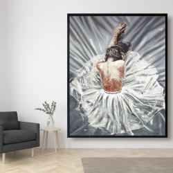 Framed 48 x 60 - Ballerina