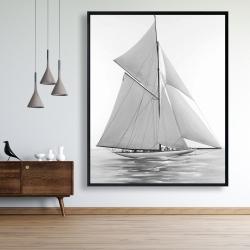 Framed 48 x 60 - Sailing ship