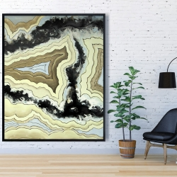 Framed 48 x 60 - Lace agate