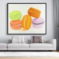 Framed 48 x 60 - Small bites of macaroons