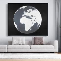 Framed 48 x 60 - Earth