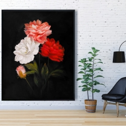 Framed 48 x 60 - Small bundle of roses