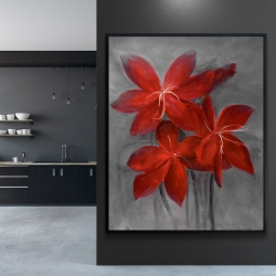 Framed 48 x 60 - Asiatic lily