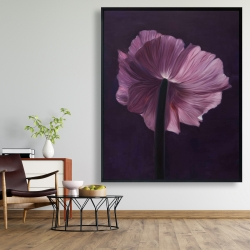 Framed 48 x 60 - Purple petals