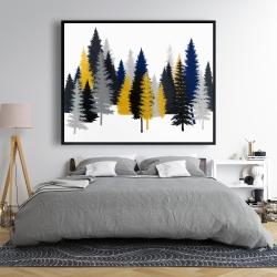 Framed 48 x 60 - Golden fir