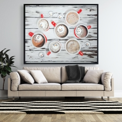 Framed 48 x 60 - Holiday hot chocolate