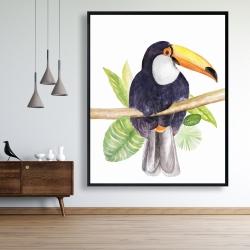 Framed 48 x 60 - Toucan