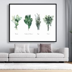 Framed 48 x 60 - Fines herbes