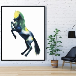 Framed 48 x 60 - Greeting horse