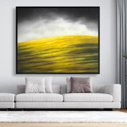 Framed 48 x 60 - Yellow hill