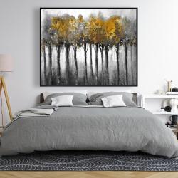 Framed 48 x 60 - Illuminated forest