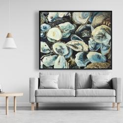 Framed 48 x 60 - Oyster shells