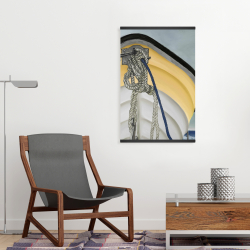 Magnetic 20 x 30 - The yellow boat