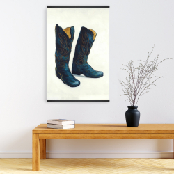 Magnetic 20 x 30 - Leather cowboy boots