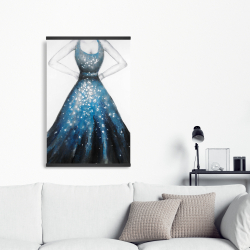Magnetic 20 x 30 - Blue princess dress