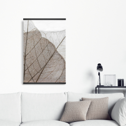Magnetic 20 x 30 - Translucent dried leaves