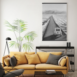 Magnetic 20 x 30 - Car on the road