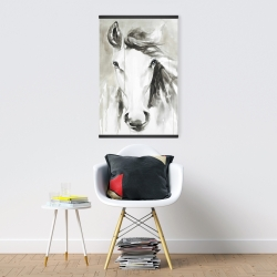 Magnetic 20 x 30 - Beautiful abstract horse