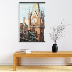 Magnetic 20 x 30 - St-pancras station in london
