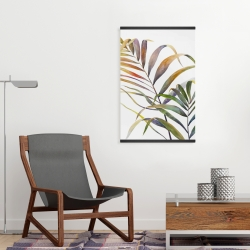 Magnetic 20 x 30 - Watercolor tropical palm leaves