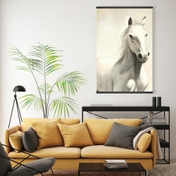 Magnetic 20 x 30 - Gallant white horse