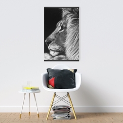 Magnetic 20 x 30 - Lion and lioness