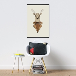 Magnetic 20 x 30 -  deer with brown coat