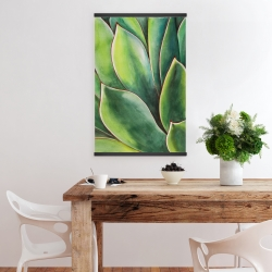 Magnetic 20 x 30 - Watercolor agave plant