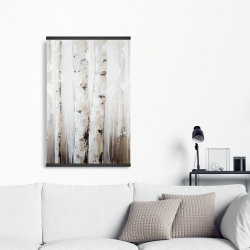 Magnetic 20 x 30 - Abstract white birches