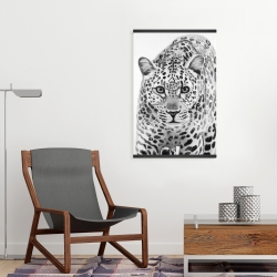 Magnetic 20 x 30 - Leopard ready to attack