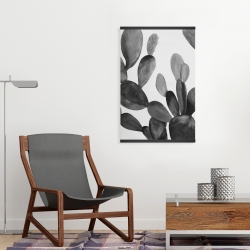 Magnetic 20 x 30 - Grayscale cactus