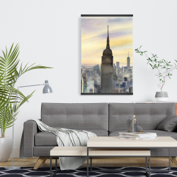Magnetic 20 x 30 - Sunset over new york city