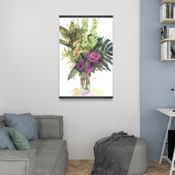 Magnetic 20 x 30 - Tropical flower assemblage