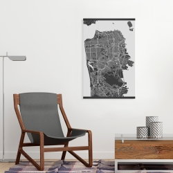 Magnetic 20 x 30 - San francisco city plan