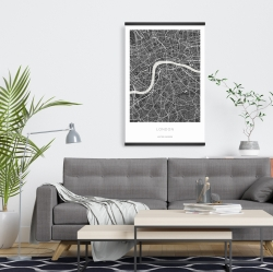 Magnetic 20 x 30 - Graphic map of london