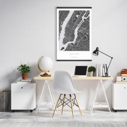 Magnetic 20 x 30 - New york graphic map