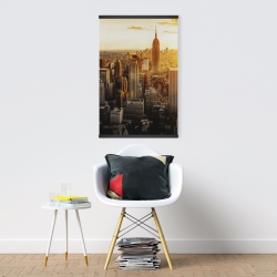 Magnetic 20 x 30 - New york city at sunset