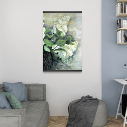 Magnetic 20 x 30 - White lilacs