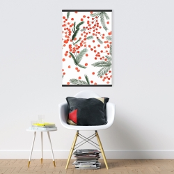 Mistletoe leaf pattern