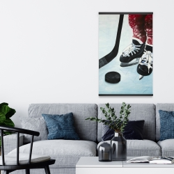 Magnetic 20 x 30 - Young hockey player